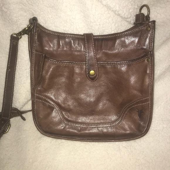 e6109ecbd Frye Bags | Campus Crossbody Purse Dark Brown Euc | Poshmark